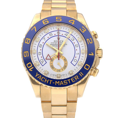 ROLEX YACHT-MASTER II YELLOW GOLD 44MM