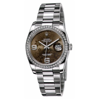 Datejust 36mm Brown Floral Dial
