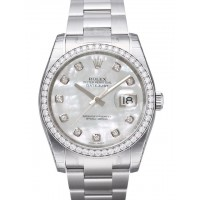 Datejust 36mm Mother of Pearl dial with Diamond bezel